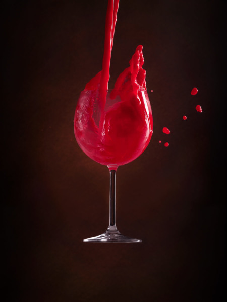 Color_Splash, beverage, pink, red, water, ingolstadt, stillife