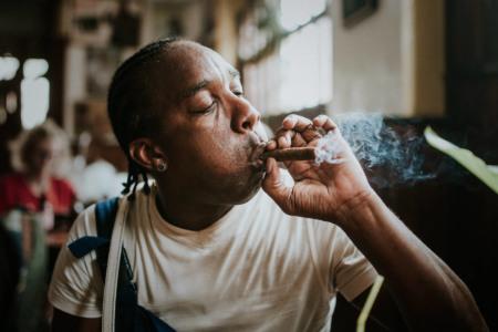 Cuba, Kuba, cigar, smoke, fire, travel, reisen, larsen, fernweh, wanderlust, 1