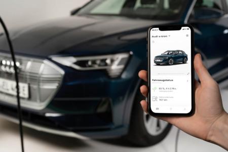 Audi, Etron, Elektro, elecrro, automotive, smart, app, Smartphone