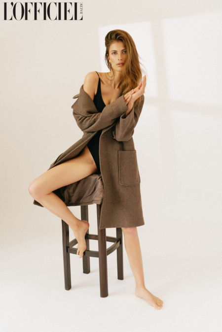 Christina, Teufel, Editorial, Lofficiel, magazine, sensual